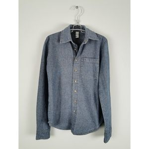 American Apparel Heavy Chambray Casual Button-up